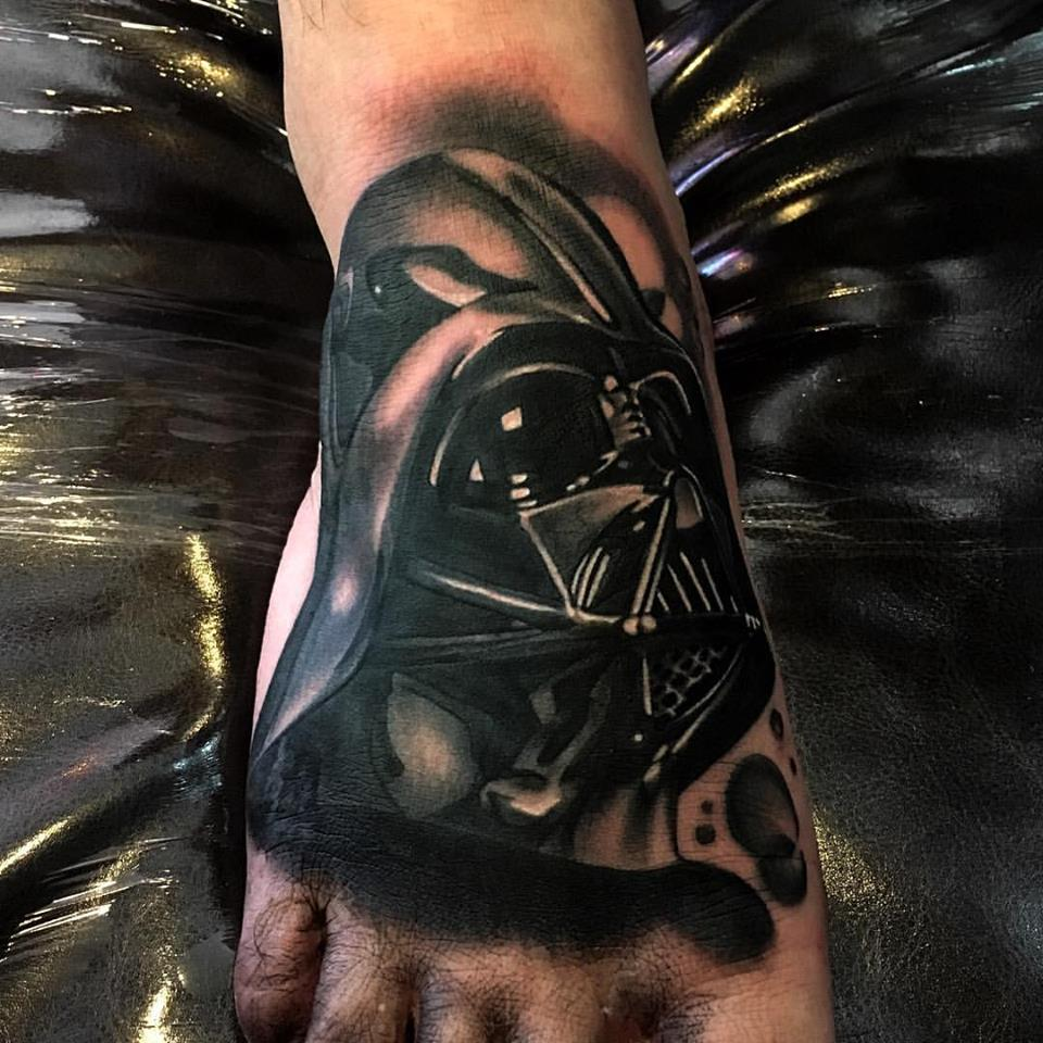 jonnie evil darth vader tattoo star wars