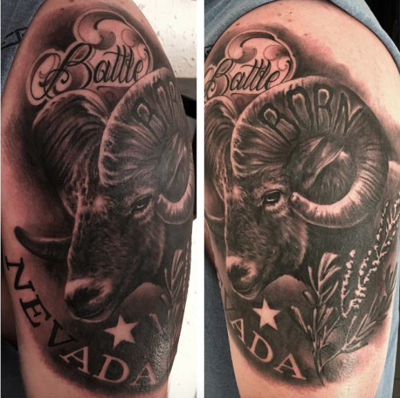 Black Gray Reno Tattoo